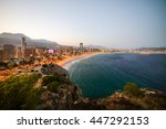 breathtaking view of the... | Shutterstock . vector #447292153