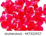 red rose petals | Shutterstock . vector #447322927
