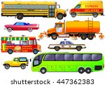 vector set of various city...   Shutterstock .eps vector #447362383