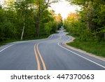 Long Winding Road Going Thru A...