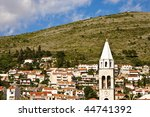 a small hillside town in... | Shutterstock . vector #44741392