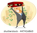 vector illustration of a... | Shutterstock .eps vector #447416863