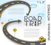 design road   street template... | Shutterstock .eps vector #447459823