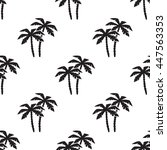vector seamless pattern on... | Shutterstock .eps vector #447563353