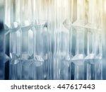 crystal stone geometric pattern ... | Shutterstock . vector #447617443