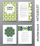cover brochure design. arabic... | Shutterstock .eps vector #447630157