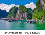 Floating Fishing Village Near...