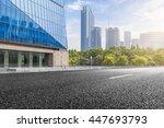 City Building Street Scene And...