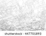 city map background | Shutterstock . vector #447701893