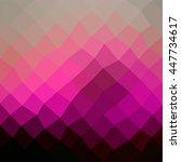 abstract polygonal vector... | Shutterstock .eps vector #447734617