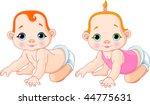very cute vector illustration... | Shutterstock .eps vector #44775631