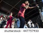 amsterdam  the netherlands  ... | Shutterstock . vector #447757933