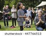 amsterdam  the netherlands  ... | Shutterstock . vector #447766513