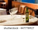 the restaurant serves for lunch.... | Shutterstock . vector #447778927