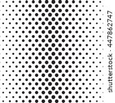 vector dotted abstract halftone ... | Shutterstock .eps vector #447862747