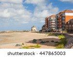 sovereign harbour beach ... | Shutterstock . vector #447865003