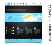 colorful website template...