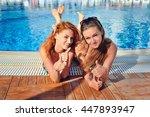 Beautiful Young Girls In Bikin...