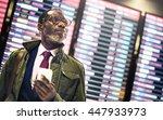 african businessman waiting... | Shutterstock . vector #447933973