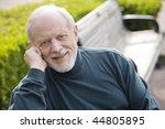 Portrait Of An Elderly...