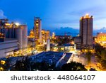 cement factory | Shutterstock . vector #448064107