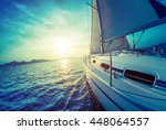 Sailing Vessel Moving In The...