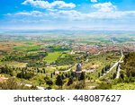 Small photo of Panoramic view of the Val di Chiana, an alluvial valley of central Italy, in Tuscany