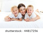 laughing children playing with... | Shutterstock . vector #44817256