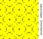 yellow abstract background ... | Shutterstock . vector #448213783