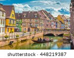 beautiful view of the historic... | Shutterstock . vector #448219387
