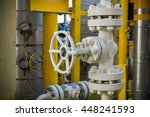 valves manual in the production ... | Shutterstock . vector #448241593
