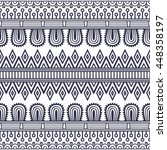 seamless pattern. vintage... | Shutterstock . vector #448358197