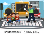 a vector illustration of... | Shutterstock .eps vector #448371217