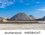 warehouse production in quarry...   Shutterstock . vector #448384147