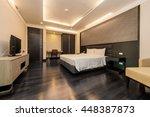interior design  big modern... | Shutterstock . vector #448387873