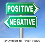 positive thinking or think... | Shutterstock . vector #448444003