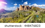 scenery pyrenees.crag and... | Shutterstock . vector #448476823