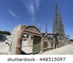 los angeles  ca   june 19 ... | Shutterstock . vector #448515097