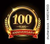 celebrating 100 years...   Shutterstock .eps vector #448519033
