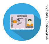 id card icon in blue circle...