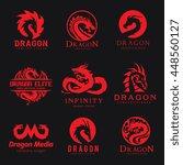 Dragon Logo Set