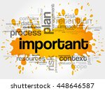 important word cloud collage ... | Shutterstock .eps vector #448646587