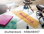 Small photo of Meeting Agenda Planner Reminder Calendar To Do Concept