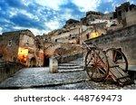 matera  in basilicata | Shutterstock . vector #448769473