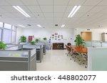 beijing   may 17  office in a... | Shutterstock . vector #448802077