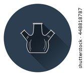 icon of chemistry round bottom...