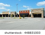 new commercial building with...   Shutterstock . vector #448831003