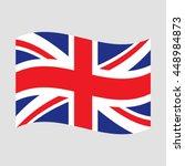 uk flag   Shutterstock .eps vector #448984873