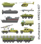 military technic army  war... | Shutterstock .eps vector #449021407