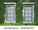 vintage greenery green british...   Shutterstock . vector #449046937